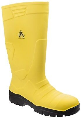 Amblers AS1007 Safety Wellingtons Steel Toe Cap Wellies Mens Work Boots