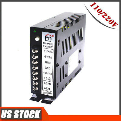 16A Arcade Switching Power Supply 110/220V Multicade Jamma 8 Liner Game Cabinets