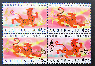 Christmas Island Lunar New Year Stamps