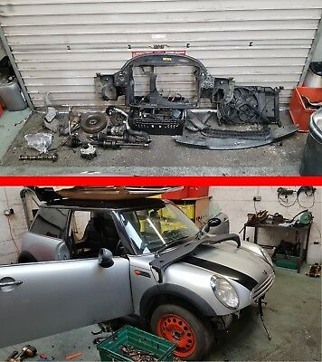 BMW Mini R50 One D Diesel 1.4 W17 D14A Breaking Spares All Parts Engine etc
