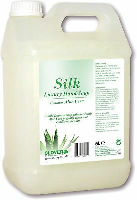 Clover Silk (2 x 5 ltr) Luxury Soap with Aloe Vera