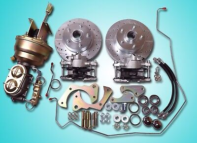 1965-1968 chevrolet fullsize impala power front disc brake conversion