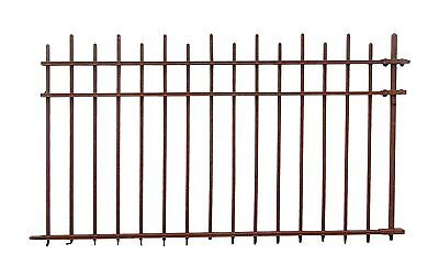 100 ft. Arts & Crafts Wrought Iron Fence