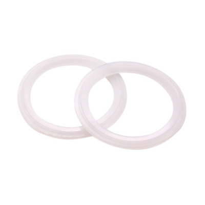 Dernord Silicone Gasket Tri-clover (Tri-clamp) O-Ring - 2.5 Inch (Pack of 2)