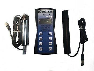 Pacer Instruments (TM) DA430 - Hygro-Thermometer Anemometer