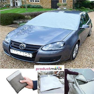 Magnetic Car Windscreen Cover Frost Ice Shield Snow Dust Sun Shade Protector