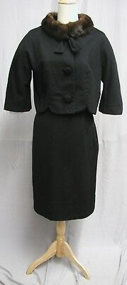 #18005, 1960's Lilli Ann Paris San Francisco Suit Imported Fabric