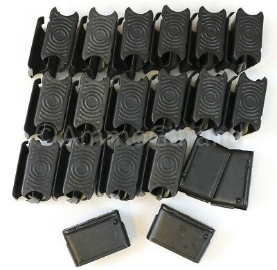 (50ea) NEW M1 Garand 8 Round Clips 8rd RD ENBLOC Clip US Made **FREE SHIP