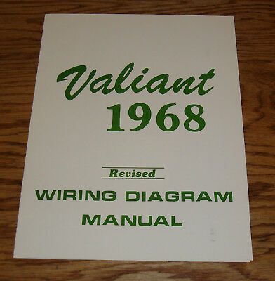 68 valiant wiring diagram 1968 dodge charger wiring diagram manual 68 rt  10 00 picclick  1968 dodge charger wiring diagram