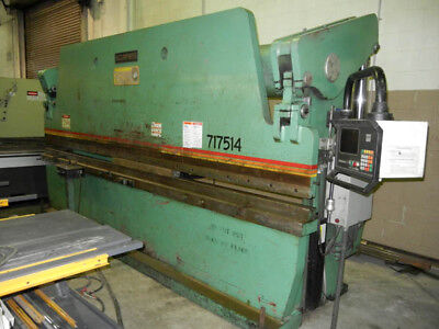 Used Accurpress 175 Ton X 14' Hydraulic 2 Axis Cnc Press Brake