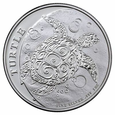 2018 Silver Turtle 1 oz Silver Coin | Direct From Niue Sealed Tube