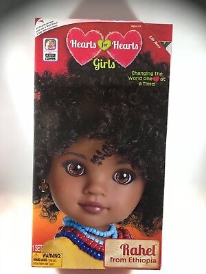 Hearts for Hearts Doll Rahel from Ethiopia new in box