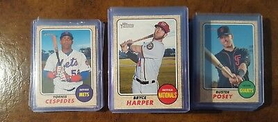 2017 Topps Heritage Short Prints.  Complete Your Set.