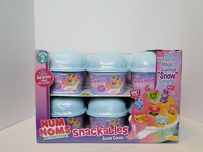 NUM NOMS Snackables Dippers Collectible Color Changers Lot of 4 Series 1/VHTF !!