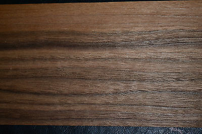 Walnut Raw Wood Veneer Sheets 5.25 x 30 inches 1/42nd thick           6773-7