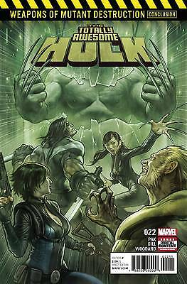 TOTALLY AWESOME HULK #22 1ST PRINT Wolverine Weapon H 1st Appearance Marvel 2017