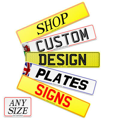 Design Quality Showroom plates and signs