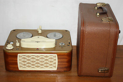 AS IS - Vintage Tandberg 3BF, Reel to Reel Tape Recorder & Player, Portable Deck