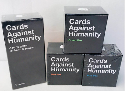 AU Cards Against Humanity V2.0 Australian Edition Red Blue Green SET Expansions
