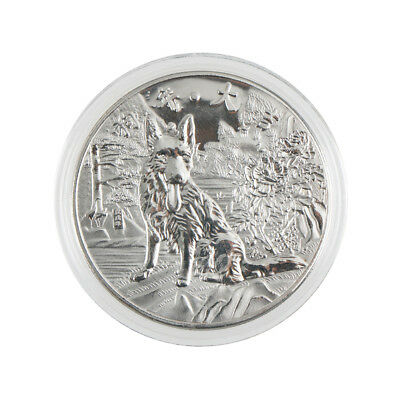 year of the dog silver chinese  2018 anniversary coins souvenir coin new^-^