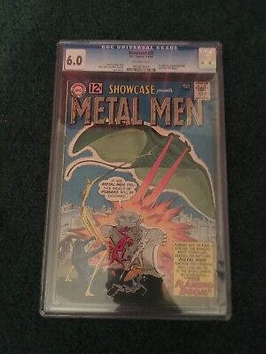 Showcase 37 - 1st Metal Men - CGC 6.0 - Off-White Pages - Classic DC