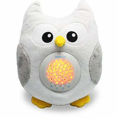 Bubzi Co Baby Sleep Aid Night Light & Shusher Sound Machine Gift LED Star Animal