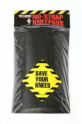 Soft Knees - Easily Installed, No Strap Knee Pads For Those Who Frequently Kneel