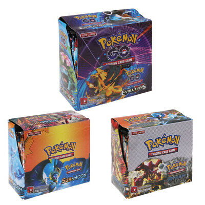 324pcs Pokemon TCG Booster Box English Edition Break Point 36 packs Game Cards