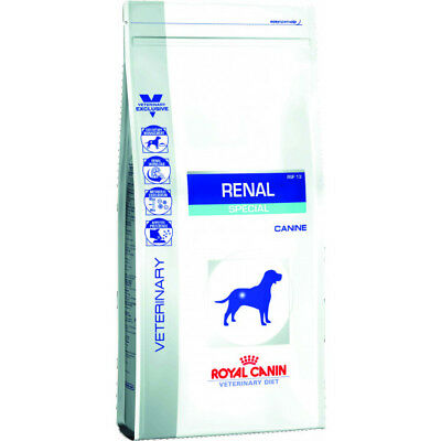 Croquettes Royal Canin Veterinary Diet Renal Special pour chiens Sac 10 kg (DLUO