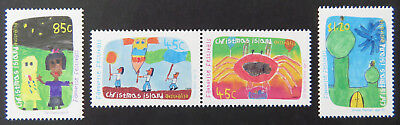 1999 Christmas Island Stamps - Favourite Festivals - Set of 4 MNH