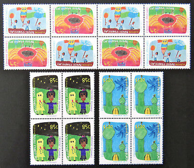 1999 Christmas Island Stamps - Favourite Festivals - Set of 4x4 MNH