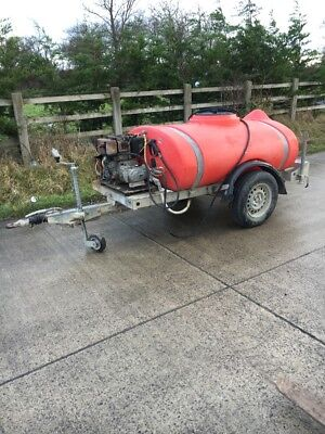 Western Bowser Towable Pressure Washer Petrol Hose And Lance VAT Included