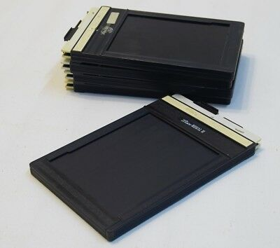 Large Format Film Holder for 4x5 Cut Sheet Film - 5 Lisco and Fidelity Holders