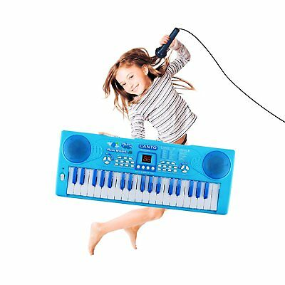 Kids Piano, Sanmersen 37 Key Multi-Function Electronic Keyboard Piano Play Piano