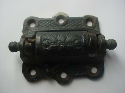 Vintage Antique Ornate Cast Iron Door SPRING LOADED HINGE EASTLAKE