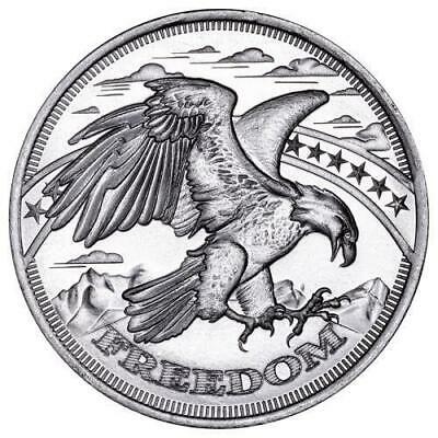 1 oz Silver Freedom Rounds | Lot of 100 in Mint Sealed Tubes