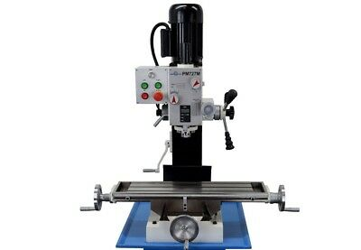 Pm-727-M Vertical Bench Top Milling Machine, Geared Head No Stand Free Shipping!