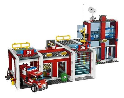 Retired Used Lego City Fire Sets 7208 7213 7206 7239 With
