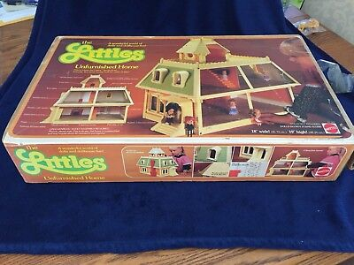 1980 The Littles Unfurnished Home No.1899 Mattel NOS Vintage with Deed RARE! HTF