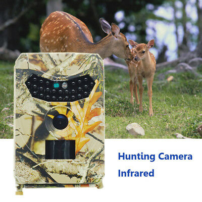12MP 1080P Hunting Camera DVR Trail Scouting Wildlife Night Vision LED Infrared