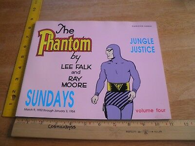 The Phantom Sundays Lee Falk Volume 4 Jungle Justice 1952-1954 book 1989