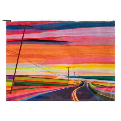 Blue Q Jumbo Pouch Sunset Highway