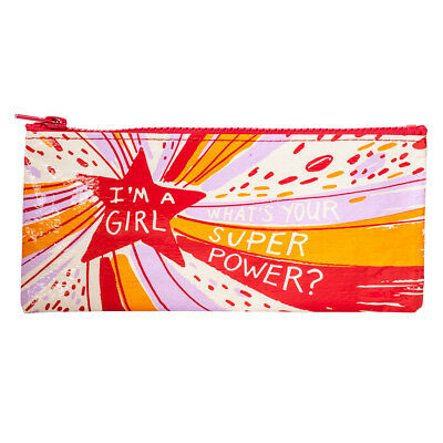 Blue Q Pencil Case Superpower