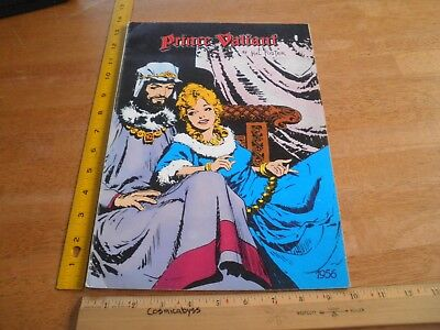 Prince Valiant Hal Foster oversized 1956 Sunday Pages TPB 1979 Pacific Comics Cl