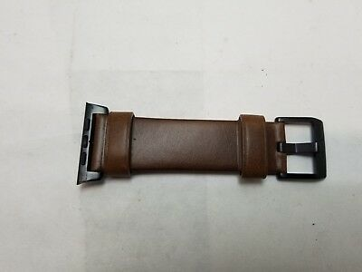 NOMAD Modern Horween Leather Strap For Apple Watch 42mm - Brown one side only