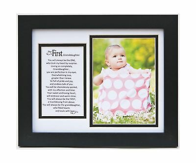 The Grandparent Gift Frame Wall Decor First Granddaughter