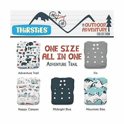 Thirsties Package Snap All In One Outdoor Adventure Collection-One Size Adven...