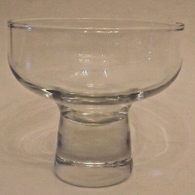 Replacement Glass Votive for Danish Wrought Iron Candle Holders, EUC