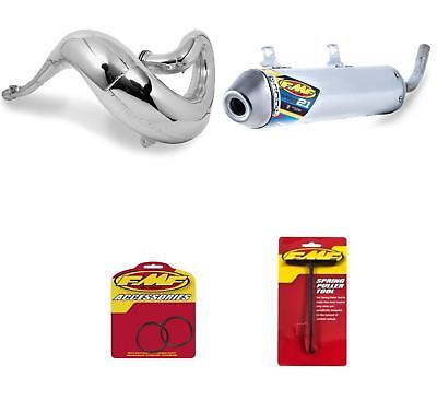Fatty Exhaust Pipe Silencer with Arrestor & O-Ring Kit for KTM 250 SX 2011-2014