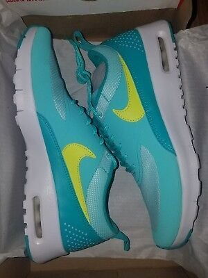 Nike W Air Max Thea GS 814444300 Hyper Turquoise Size 4